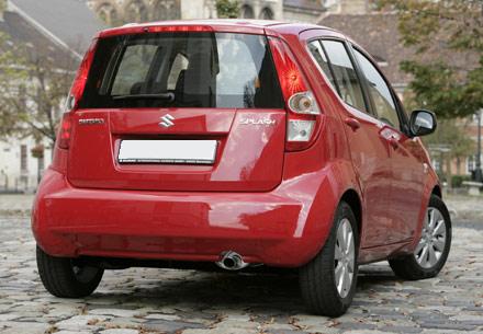 Maruti Suzuki Rits rear